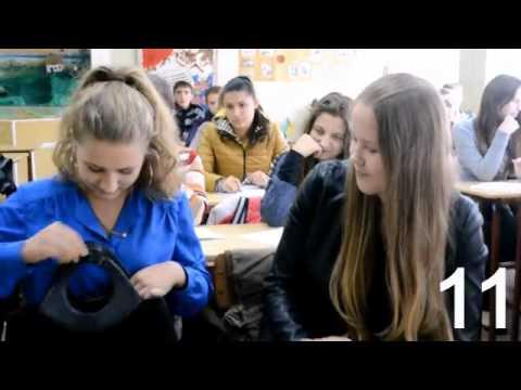 сравнение учеников 7 и 11 класса ржака) (видео)