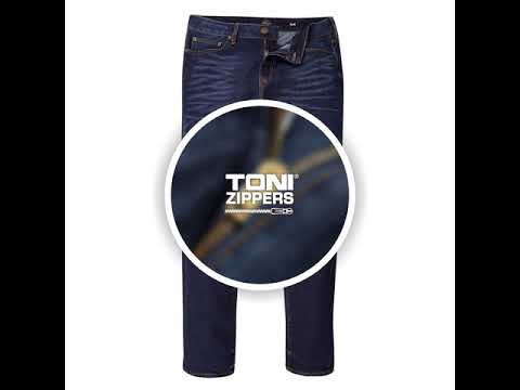 Smooth running with #4 Toni Metal Zippers & Sliders
