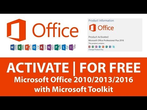 How To Activate Microsoft Office 2010/2013/2016 Without Any Product Key FREE PERMANENTLY(reupload)