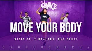 Video Move Your Body - Wisin ft. Timbaland, Bad Bunny | FitDance Life (Coreografía) Dance Video MP3, 3GP, MP4, WEBM, AVI, FLV Januari 2018