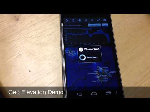 Video of Geo Elevation: Generate Chart