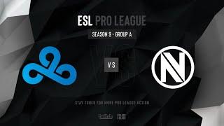 Cloud 9 vs Envy - ESL Pro League Season 9 NA - map2 - de_mirage [MintGod]