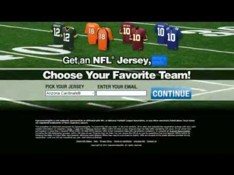 Free NFL Jersey (Working) – Get Your Free NFL Jersey