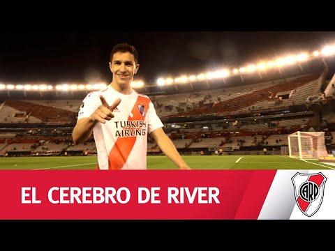 Nacho Fernández, un show de fútbol