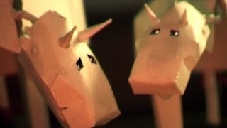 "The Shins - ""Pink Bullets"" - (Stop Motion)"