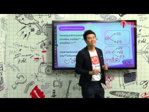 สอนศาสตร์ : GAT 1 : ภาษาไทย : ความสำคัญของ GAT กับการเลือกคณะ (видео)