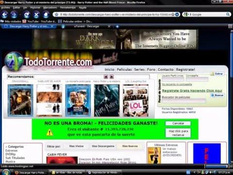 como descargar peliculas gratis por utorrent