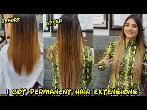 Hair color - I got permanent Hair extensions  shystyles
