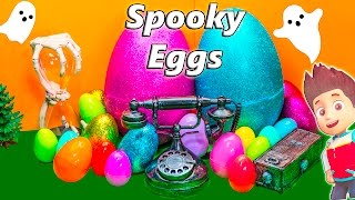 PAW PATROL + Scooby Doo Surprise Egg Compilation Spooky Hallow...