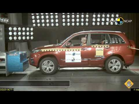 Chery Tiggo 3 Crash test
