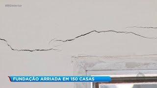 Rachaduras preocupam moradores em Barra Bonita