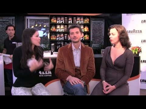thetuscangun - 5 Questions for Debi Mazar & Gabriele Corcos SUBSCRIBE: http://www.youtube.com/Potluckvideochannel We talk to the spouses and hosts of Cooking Channel's Extr...