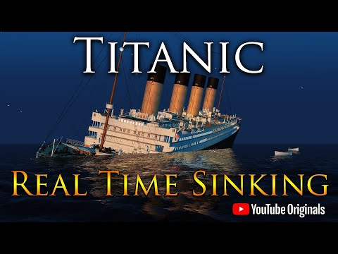 Titanic 108 Years | A Real Time Sinking Animation