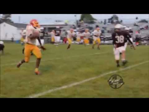 Tyrique - Check out this sophomore Running Back in this single game highlight reel as he takes on Hodgson Vo-Tech High School (Newark, Delaware) in his first action th...