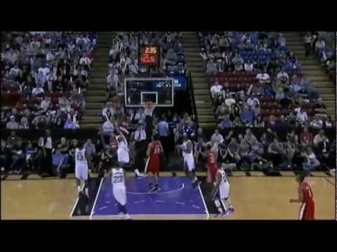 [4.15.12] Hasheem Thabeet - One Handed Alley Oop Dunk Vs Kings