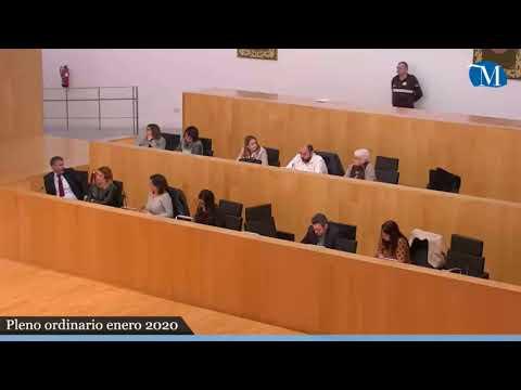 Pleno ordinario de la Diputación correspondiente al mes de enero