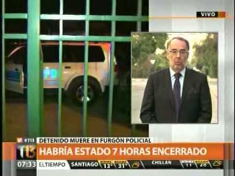 Fallecimiento de detenido en Rancagua