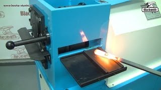 Станок LP4 Blacksmith для раскатки окончаний «лапок» и формировки трубы