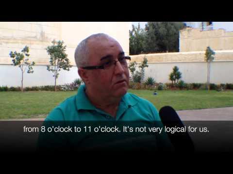 Labor Strike - Morocco labor strike 10/30/14.