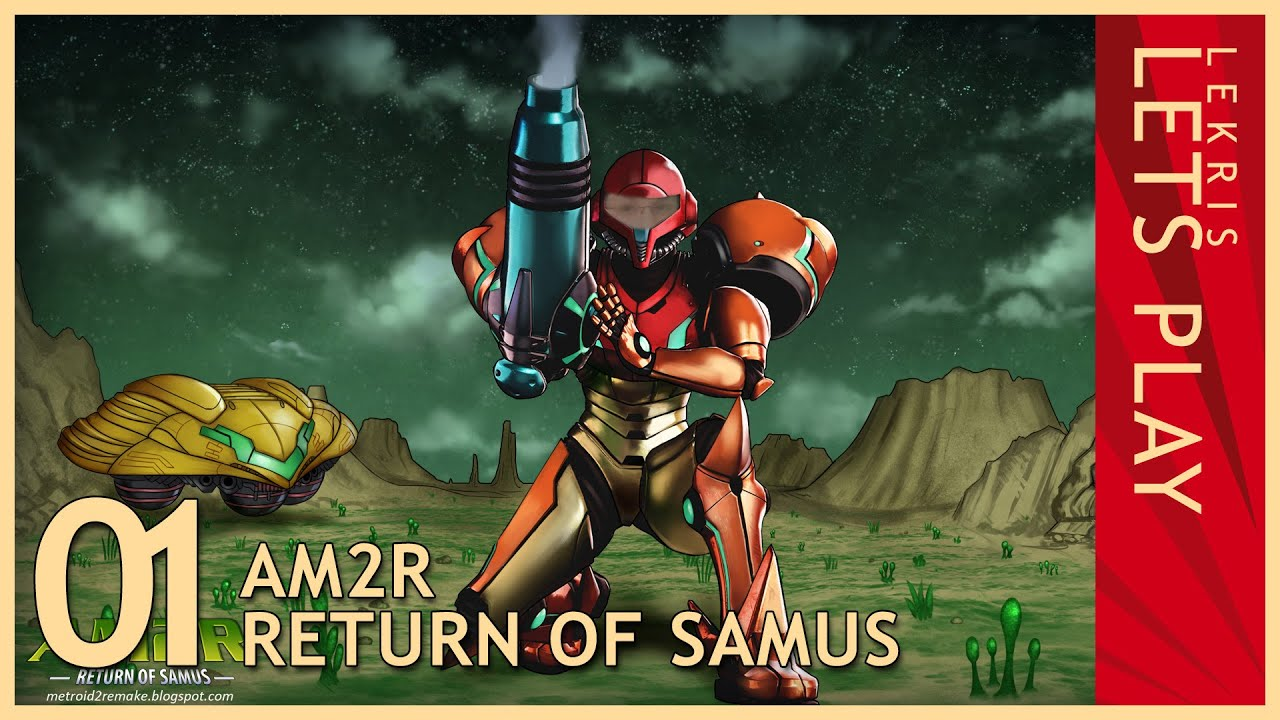 Let's Play AM2R - Return of Samus 1.0 Full Version #01
