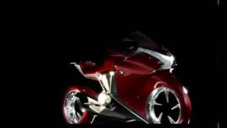 Honda V4 Concept Model