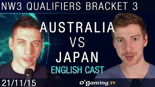 Australia vs Japan - NationWars III - Qualifiers Bracket 3 - Match 2 [EN]
