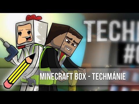 Minecraft Box  - Techmánie (Drawing timelapse)