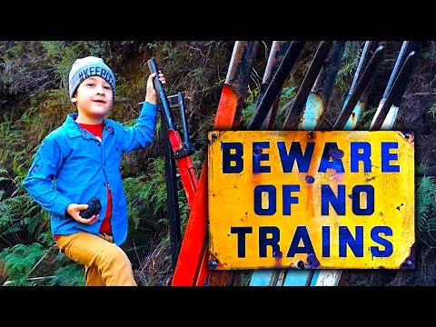 Zig Zag Ghost Railway 2016 Another Year Without Steam Trains & Tourist Attraction