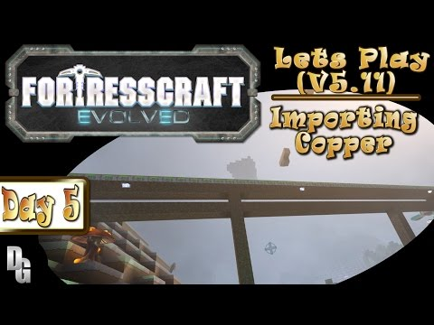 FortressCraft Evolved! ►Let's Play Episode 5 ► The Copper Shortfall!