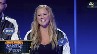 Amy Schumer Wins Fast Money - Celebrity Family Feud 3x1