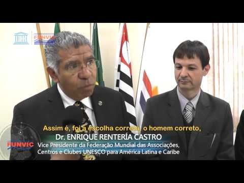 FUNVIC/BFUCA recebe Visita dos representantes Unesco