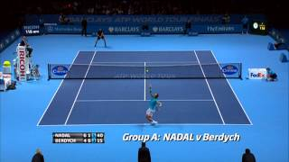 Tennis Highlights, Video - Hot Shot Countdown: See The Best Points From The 2013 Season Finale