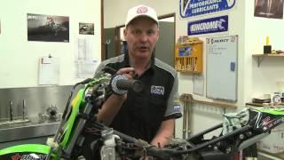10. MXTV - Rebuilding Cam's Kawasaki KX65