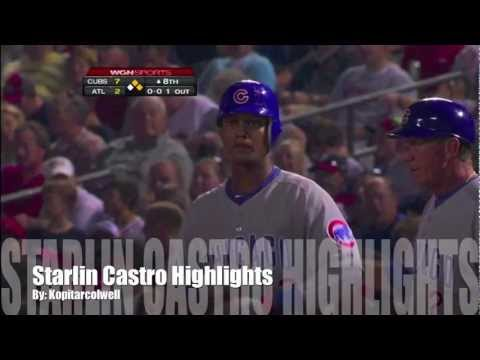 Starlin - These are some awesome highlights of Starlin Castro of the Chicago Cubs! I dont own any of the clips in this video and i do not own any of the music. Thanks ...