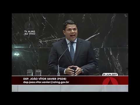 Deputado João Vítor Xavier vota contra o aumento de impostos