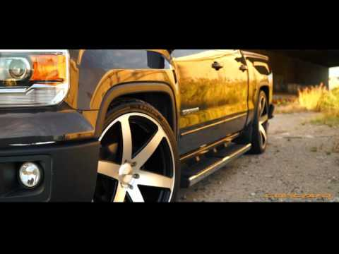 GMC Sierra on Concavo CW6 Wheels Lowered Concave Rims / TeamConcavo