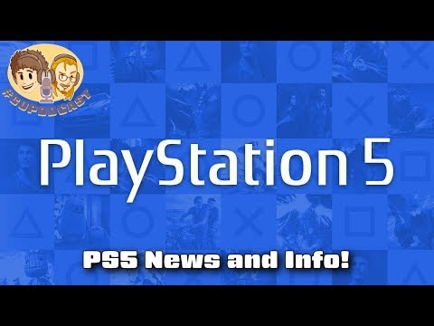 PS5 Console and Controller Info Revealed