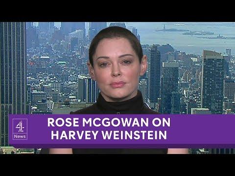 Rose McGowan interview on Harvey Weinstein, Me Too and Morgan Freeman