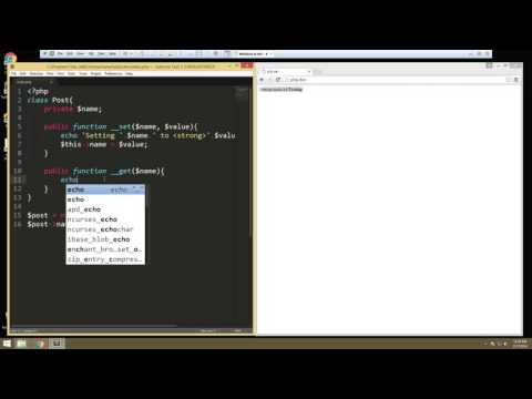 Learn about Object Oriented Fundamentals in PHP - Part 5