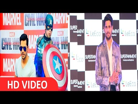 It'll Be Interesting To See Varun's Voice As Captain America - Sidharth Malhotra