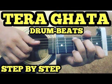 Tera Ghata Guitar Chords Lesson With intro (HEARTBEAT STYLE) | Gajendra Verma | FuZaiL Xiddiqui