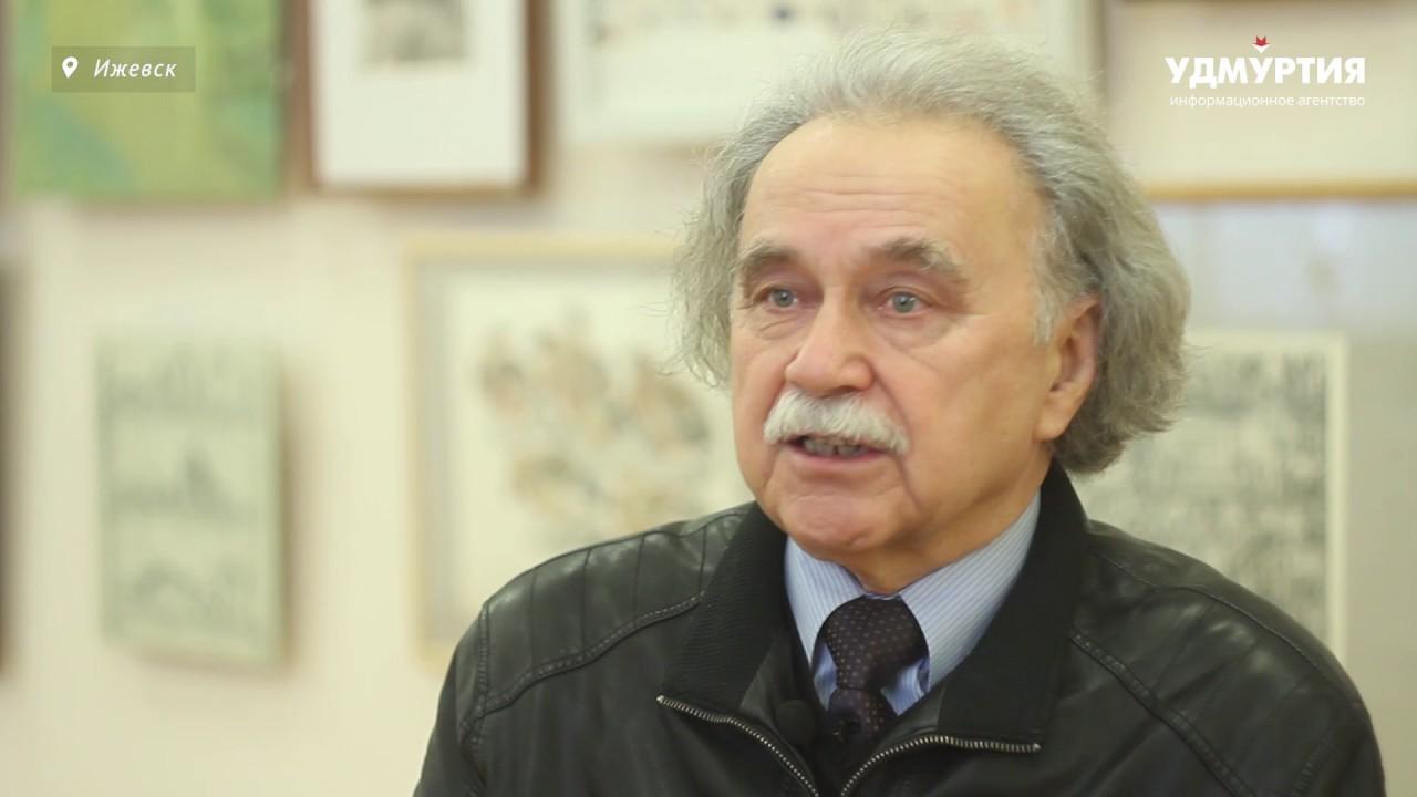 О художнике-баталисте уроженце Удмуртии Петре Кривоногове