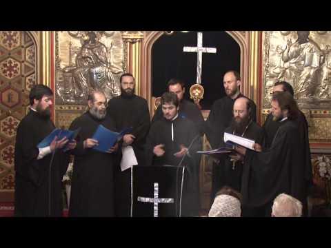 Concert Psaltic la Catedrala din Paris