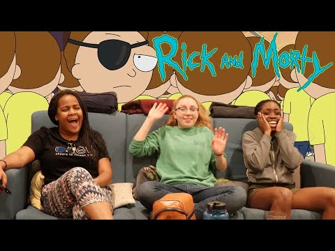 "Rick and Morty - Season 1 Episode 10 ""Close Rick-Counters of the Rick Kind"" REACTION"
