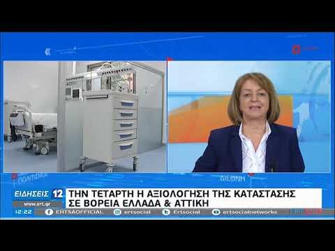 Covid 19: Την Τετάρτη  η αξιολόγηση της κατάστασης σε Βόρεια Ελλάδα και Αττική | 26/10/20 | ΕΡΤ