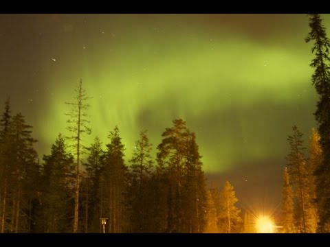 Magical Northern Light (Aurora Borealis) in Salla - Lapland - Finland (20-2-2015)