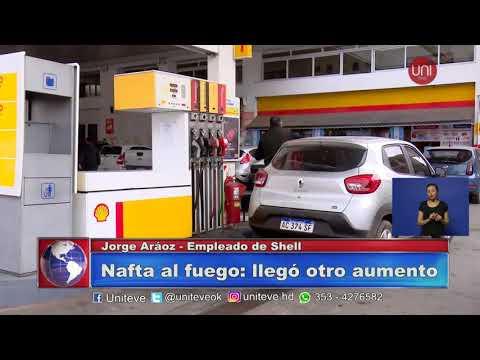 Nuevo aumento de combustible