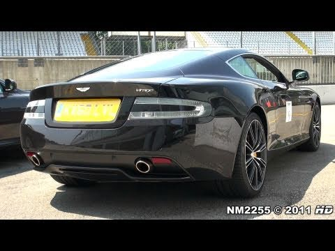 2013 Aston Martin Virage Start Ups and Revs!