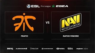 fnatic vs Na'Vi, game 1