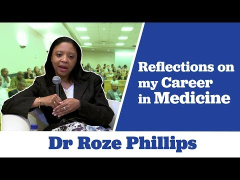 Dr Roze Phillips Reflects Back on Her Career Journey